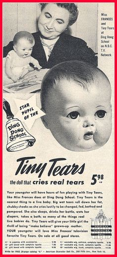 1953 TINY TEARS by mcudeque, via Flickr