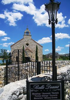 Bella Donna Chapel in Adriatica, McKinney's Croatian village