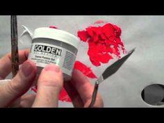 Acrylic Mediums : How to use Acrylic Soft Gel and Mediums Part 2