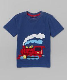 Another great find on #zulily! Indigo Train Tee - Infant & Toddler by CR Sport #zulilyfinds