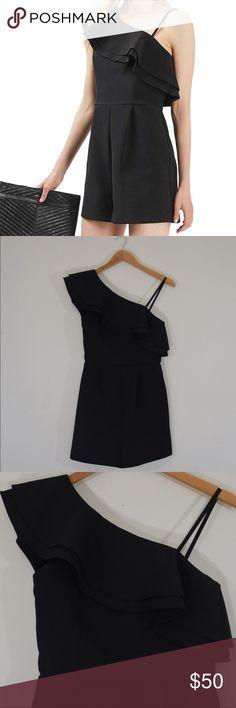 Topshop Size 2 Black