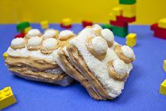 Peanut Butter LEGO® Sandwiches