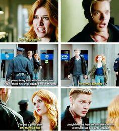 "#Shadowhunters 1x07 ""Major Arcana"" - Clary and Jace"