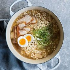 williams recipe sonoma belly ramen taste easy pork Easy Pork Belly Ramen Recipe Williams Sonoma Taste You can find Ramen and more on our website Ramen Ingredients, Ramen Noodle Recipes, Noodle Soups, Ramen Soup, Pork Ramen Recipe, Easy Ramen Recipes, Ramen Broth, Asian Recipes, Healthy Recipes