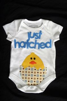Easter shirt Baby shower gift Newborn shirt by AmandasLittleAngels