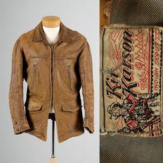 Mens Vintage 40s Kit Karson Indian Scout by StyleandSalvageMen