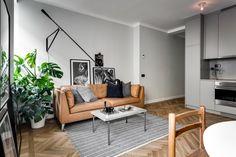 Ikea 'Stockholm' leather sofa