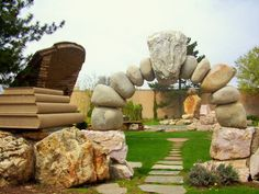 Gilgal Sculpture Garden in Salt Lake City