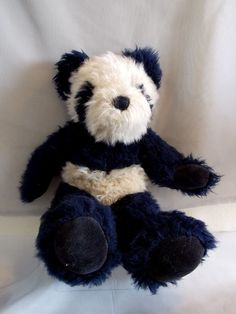 "Boyds Bears Hsing Hsing Wongbruin Tan and Black Panda Jointed Plush 15""    #Boyds #jointed #teddy #panda"