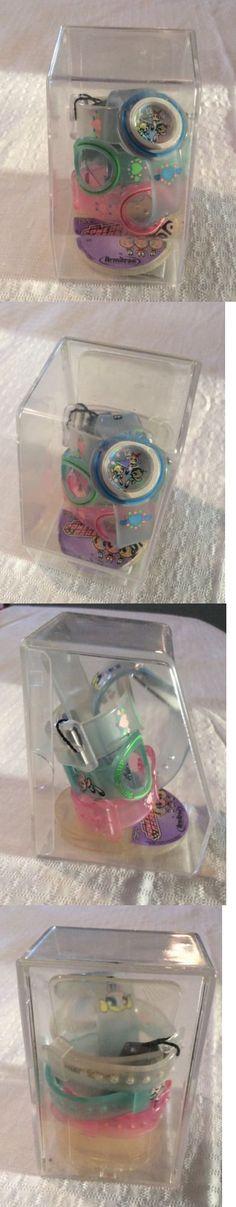 Powerpuff Girls 12523: Cartoon Network Powerpuff Girls Watch With 4 Interchangeable Watch Bands -> BUY IT NOW ONLY: $59.99 on eBay!