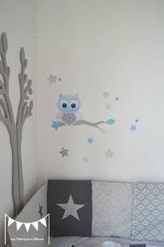 Chambre Bleu Taupe : ... tour de lit bébé / Décoration chambre ...