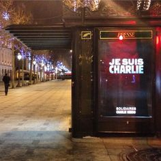 7 January 2015 Champs Elysees / 12 dead in 'terrorist' attack at Paris paper / www.bbc.com/...