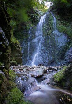 Dhoon Glen Waterfall, Isle of Man...by Joe Bromley.