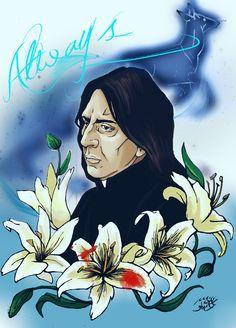 Severus Snape-Always by HecateInNightmare.deviantart.com on @DeviantArt