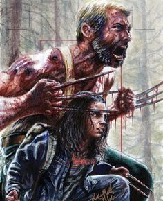 """Wolver-Steve on Twitter: """"Do not go gentle into the night. Rage. Rage against the dying of the light. #Logan #Wolverine #Laura #X23 https://t.co/XkcOTdTvZm"""""""