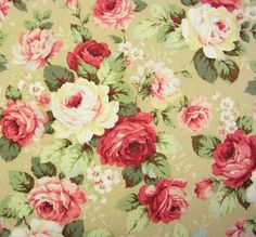 Vintage Floral Fabric, Quilting Fabrics by Style, Colour, Fabrics for Quilting, The Quilters' Store and The Embroiderers' Store