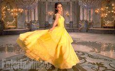 Emma Watson em primeira foto de divulgação de 'A Bela e a Fera' (Foto: Reprodução / Entertainment Weekly)