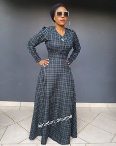 Winter Maxi Dresses @nedim_designs +27829652653 African Men Fashion, African Fashion Dresses, African Traditional Dresses, Traditional Outfits, African Print Dresses, African Dress, African Attire, African Wear, Abaya Fashion