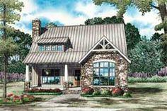MonsterHousePlans - 12-1257 Cottage Floor Plans, Lake House Plans, House Plans And More, Country House Plans, Small House Plans, Stone House Plans, Small Cottage House Plans, Small House Floor Plans, Cabin Plans