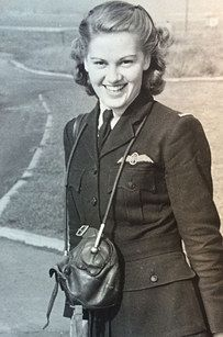 This is Joy Lofthouse, 92, one of the few surviving women to have flown Spitfire planes during World War II. | A Female World War II Pilot Aged 92 Just Flew A Spitfire And Had A Lovely Time - BuzzFeed News