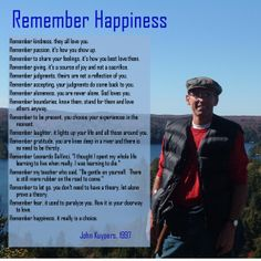 Remember Happiness by @JohnKuypers