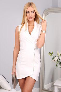 Sukienka kremowa 9846