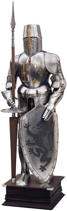 Spanish Medieval Knight Jousting Suit of Armor of the 16th Century