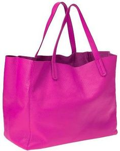 Leather tote Gap