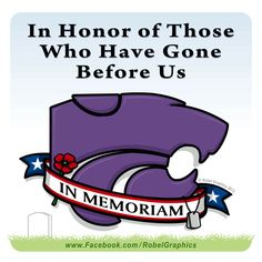Memorial Day K-State Powercat posted on my Robel Graphics Facebook page.