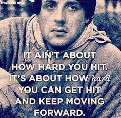 Most memorable quotes from Rocky Balboa, a movie based on film. Find important Rocky Balboa quotes from film series:Rocky Rocky II Rocky III Rocky IV Rocky V and Rocky Balboa Check InboundQuotes for Wisdom Quotes, True Quotes, Great Quotes, Quotes To Live By, Motivational Quotes, Inspirational Quotes, Motivational Pictures, Qoutes, Rocky Quotes