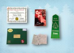 #Christmas Gift Package from #Santa by SantaGiftWorkshop on Etsy, $12.85