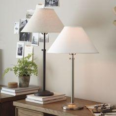 Hanover Adjustable Table Lamp. Ballard Design