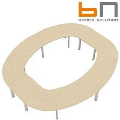 BN CX 3200 Conference Table Arrangement 13 To Seat 14 People  www.officefurnitureonline.co.uk