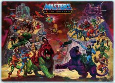 William George knew how to paint EPIC Masters of the Universe scenes! :) Meme Artwork Skeletor Grayskull He-Man Heman MOTU Masters of the Universe Man-At-Arms Teela Filmation Beast Man Orko Merman Plastic Crack Universe Art, Gi Joe, Geoff Johns, Pokemon, Man Wallpaper, Thundercats, Transformers, Comic Art, Avengers