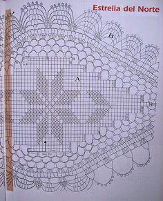 Carpeta tejida con ganchillo con patrones y explicación en español | Crochet y Dos agujas