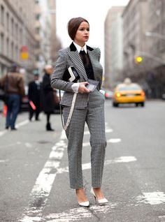 Mens suit style for women