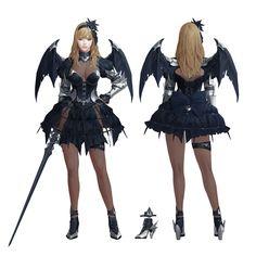 ArtStation - Dark Avenger 3 costumes, dongho Kang