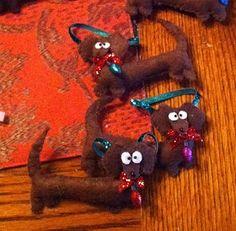 Christmas Weiner Dog   Weiner Dog - Dachshund Christmas Ornaments ~ Oh' Happy ...   Doxies!!!
