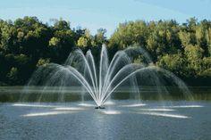 Kasco Magnolia Premium Pond Fountain - Got to love fountain jets