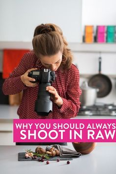 5 reasons why you should always shoot in raw format. It's my favorite food blog photography tip! Blogging tips that make a difference :)