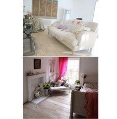 Gemütliches Wohn- und Schlafzimmer