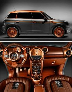 Steampunk Mini Cooper Countryman