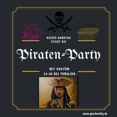 Eine Piraten-Party zum #Fasching veranstalten