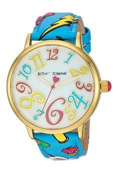 Betsey Johnson BJ00496-59 Betsey Emoji Print (Teal) Watches - Betsey Johnson, BJ00496-59 Betsey Emoji Print, BJ00496-59-000, Jewelry Watches General, Watches, Watches, Jewelry, Gift, - Fashion Ideas To Inspire