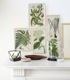 These DIY trays recall the wares of artist John Derian—only ours cost just a few bucks a pop.