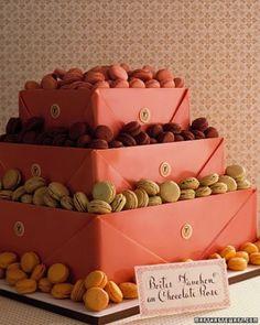 Boites Roses Wedding Cake