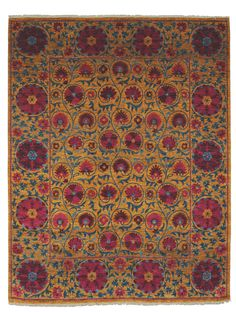 Pomegranate Gold by The Rug Company | Wool Traditional rugs - modern spanish renaissance