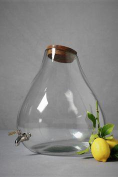 let it flow ... the perfect drink container! http://www.bhldn.com/the%2Dshop%5Fdecor%5Ftabletop/stout%2Dspigot%2Dcruet