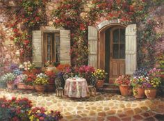 Paul Guy Gantner 1948 ~ Landscape painter | Tutt'Art@ | Pittura * Scultura * Poesia * Musica |
