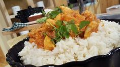 Guiso de pollo y arroz mil sabores